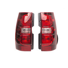 OEM Right & Left Passenger Combo Tail Light Brake Light Set 07-14 Tahoe Suburban