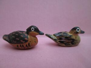 2 x Lovely Tiny Little Duck Ornaments