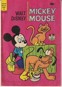 "Australian Walt Disney's Comic M.257 ""Mickey Mouse"" Wogan 1978"
