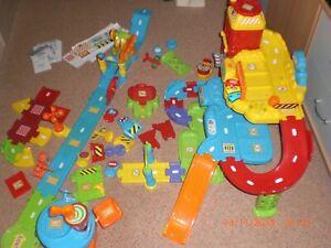 Parkgarage Vtech Fahrzeuge Parkhaus Spielzeug Auto Tut Tut Baby