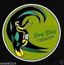 """SURF SHOP SANTA CRUZ"" DECAL / STICKER VINYL Surfboard Kombi SURF SURFING SKATE"