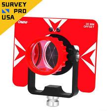 All-Metal Omni Advance 62mm Single Tilting Prism 0/30mm Front Lock Total Station