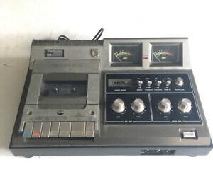Vintage Technics RS-640US Cassette Player Recorder Tape Deck Please Read