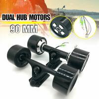 24V 90mm Dual 6364 Hub Motors Drive Kit For Electric Skateboard Longboard Parts