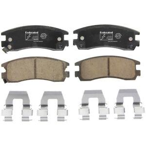 Disc Brake Pad Set-SST Rear Federated D814C