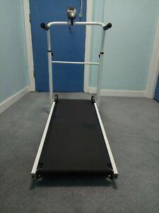 Fitnessclub Folding Manual Treadmill Walking Machine Incline Cardio Fitness Run