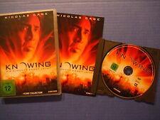 Knowing - Die Zukunft endet jetzt - DVD - Mit Nicolas Cage - Neuwertig !