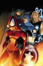 Ultimate Comics Spider-Man:  Death of Spider-Man Prelude-ExLibrary