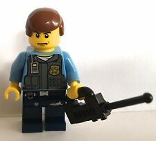 LEGO minifigure Police officer Policeman traffic cop town city sets. #1