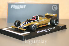 Slot car SCX Scalextric Flyslot F01103 Williams FW07 GP Italia 1980 Rupert