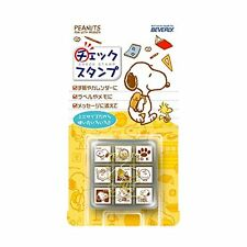 Beverly stamp Snoopy check stamp CK9-015 Japan