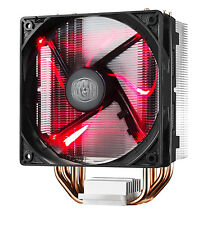 Cooler Master HYPER 212 LED CPU Air Cooler 4 Heatpipes 1 by 120mm PWM Fan Red