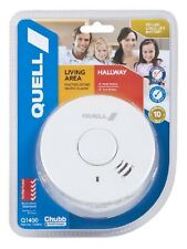 QUELL LIVING AREA/HALLWAY PHOTOELECTRIC SMOKE ALARM 10YEARS WARRANTY ON ALARM
