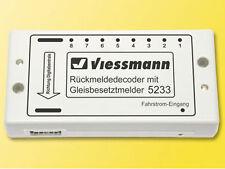 Viessmann 5233 - Rückmeldedecoder mit Gleisbesetztmelder - Spur N - NEU