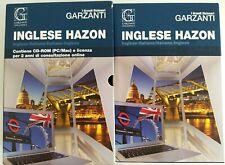 GRANDE DIZIONARIO BILINGUE INGLESE GARZANTI HAZON 2014 CON CUSTODIA COME NUOVO