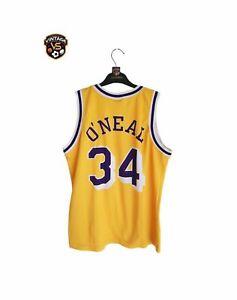 Vintage LA Los Angeles Lakers NBA Basketball Jersey S) #34 O'Neal Champion Shirt