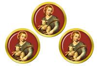 St Agnes de Rome Marqueurs de Balles de Golf