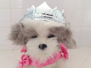 NWT PETCO Bootique Princess and Crown Dog Costume XS S MED $20