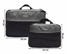 SONTOKO Packtasche Packwürfel Kofferorganizer Kleidertasche extra Schmutz-Fach