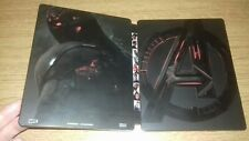 Avengers Age Of Ultron Limited Edition Blu Ray Steelbook ONLY! NO DISCS!  DISNEY