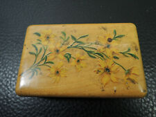 Antique hand painted wood box with Calligraphy Flex Dip Pen