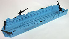 TRIANG MINIC SHIP M885 FLOATING DOCK BLUE CODE 3 FINISH COMPLETE (MR)