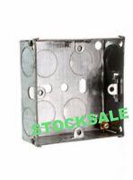 1 GANG 25MM BACK BOX SINGLE 1 GANG FLUSH MOUNT METAL ELECTRIC SOCKET BACK BOX