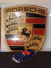 TIPPCO RARE W. GERMANY VINTAGE BLUE PORSCHE 356 W/WORKING FRICTION DRIVE! SWEET!
