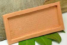 (B005) Stampo in silicone per Piastra a muro regolari Pietra naturale, Scala N