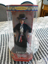 DOLLS OF THE WORLD ( CHILEAN ) BARBIE  1997 COLLECTOR EDITION