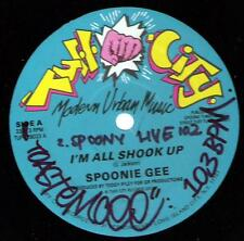 """Spoonie Gee I'm All Shook Up 12"""" Tuff City 1987 RARE"""