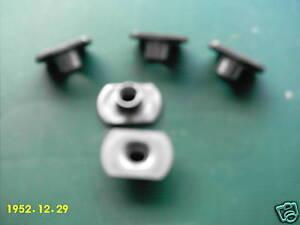 Beetle Wing repair Weld Nuts   5 pack  M8