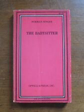 1968 THE BABYSITTER by Norman Singer Ophelia Press - adult erotic pulp novel 1st