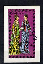 ISLE OF STAFFA 1975 COSTUMES MINIATURE SHEET CTO