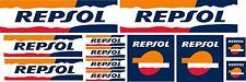 KIT 12 ADESIVI REPSOL HONDA A COLORI CBR MOTO COD67