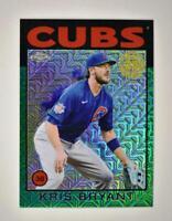 2021 Series 1 1986 Baseball Silver Chrome Green #86BC-44 Kris Bryant 1/99