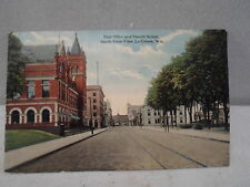 La Crosse Wisc Wisconsin, Post Office  & Fourth ST, South, early postcard ! 1913