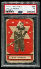1933 OPC O-Pee-Chee  TINY THOMPSON #68 RC Rookie Card  *RARE*  PSA 1 PR