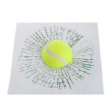 Tennis Ball Hit Window Tailgate Car Sticker 3D Decal Auto Windshield Decoration