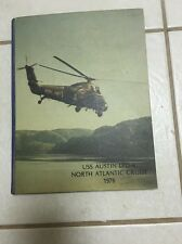 USS Austin LPD-4 North Atlantic Cruise 1976 Cruise Book