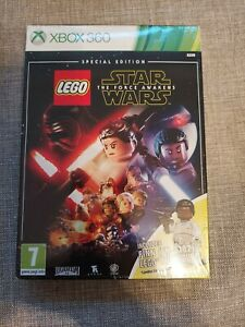 LEGO STAR WARS THE FORCE AWAKENS XBOX ONE NEW AND SEALED INCLUDES FINN FIGURE