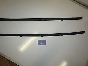Genuine Holden commodore VU VY VZ UTE Door Window Belt Mould Trim SET GENUINENEW