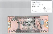 BILLET GUYANE - 1000 DOLLARS - ND