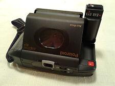 Polaroid Captiva SLR Folding Instant Camera Auto Focus Flash 95 Film Used VTG