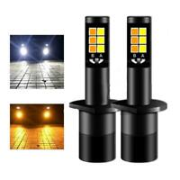 1 Pair 180W 18000LM 6500K COB LED Headlight Waterproof LED Chips Bulbs CSP
