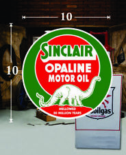 "SINC-OIL-2 24/"" X 14.3/"" SINCLAIR GASOLINE LUBSTER FRONT  LUBESTER OIL DECAL"