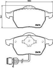 Brake Pad Set, disc brake A.B.S. P85026