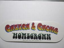 Cheech and Chong  Home Grown Decal