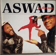 Aswad-To The Top Lp 1989 Italian Issue Reggae