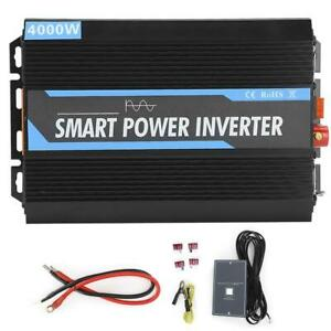 4000W ( Peak) Pure Sine Wave Power Inverter Converter DC 12V to AC 220V